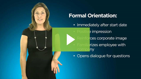 screenshot of video - 5 must-do's for employee orientation
