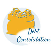 image of money bag - debt consolidation