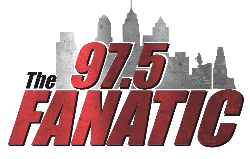 97.5 The Fanatic logo