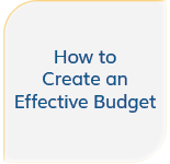 How to create an effective budget